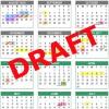 2016-17 Draft Calendar