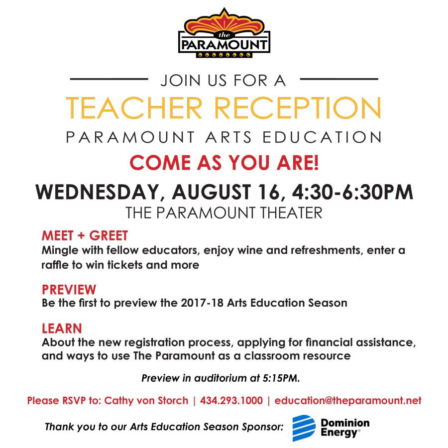 Paramount Teacher Reception