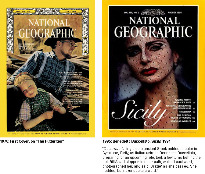 WAA National Geographic Covers