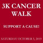 3K Cancer Walk 2019