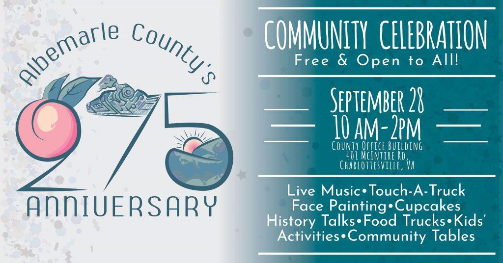 Albemarle County 275th Anniversary