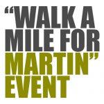 Walk a Mile for Martin Event