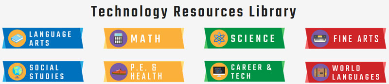 Technology Resources Library Header