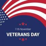 Veterans Day 11th November