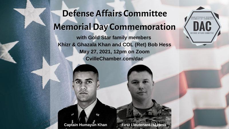 DAC Memorial Day Commemoration 2021