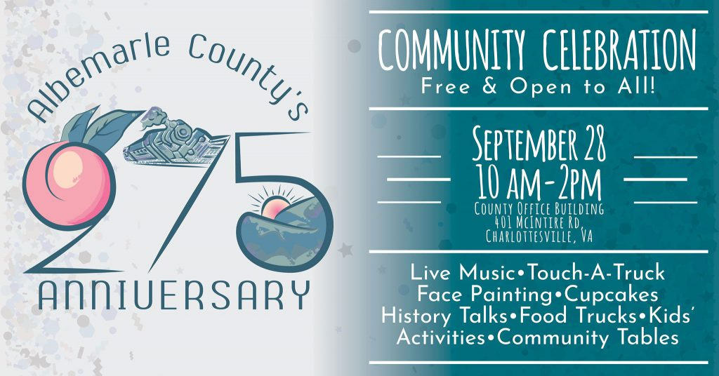 Albemarle County 275th Anniversary
