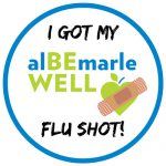 Flu Shot Sticker