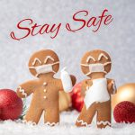 Stay Safe with masked gingerbread cookies