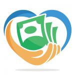 fundraising heart icon