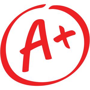 grade result A+