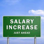salary increase just ahead billboard