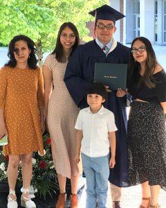National Hispanic Heritage Month: Family celebrating graduation