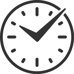 Payroll Clarity Project clock icon